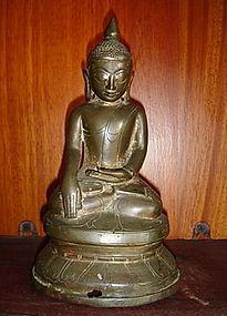 AVA Bronze Buddha, 17/18th Century