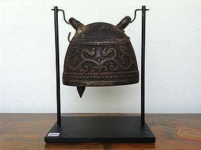Antique BRONZE ELEPHANT BELL, 19th Century Burma