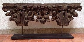 Beautifully Carved Architectural Element-WOODCARVING