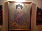 ORIGINAL PAINTING OF H.R.H. QUEEN SIRIKIT BY Y SURIPONG