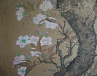 KANO SCHOOL PAINTING ON SILK, FRAMED, JAPAN 17/18TH CENTURY