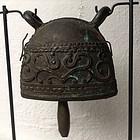 ANTIQUE BRONZE PASTORAL BELL, 19th CENTURY, BURMA