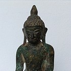 GENUINE SHAN BRONZE BUDDHA, 18TH CENTURY, BURMA