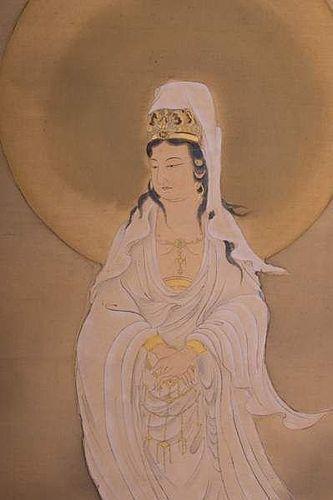 JAPANESE SCROLL EDO PERIOD ATTRIBUTED TO KANO INSENIN NAGANOBU