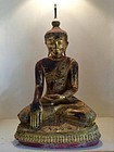 Magnificent & Large Amarapura Buddha 18th Century