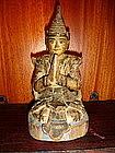 Praying Angel Woodcarving, Siam, 19th Century
