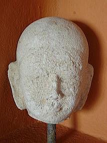 Extremely Rare Head of Buddha, Ava, Burma, pre 1800