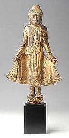 Stupendous Mandalay Standing Buddha, 19th Century
