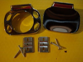 Vintage NuTone Chrome Toothbrush and Soap Holder