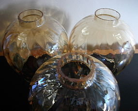 Marigold Diamond Optic Glass Globes