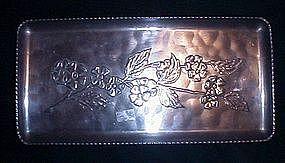 Hand Wrought aluminum tray
