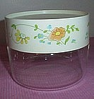 Pyrex Wildflower Glass Canister