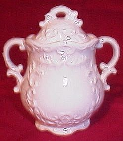 Napco White Provincial Sugar Bowl
