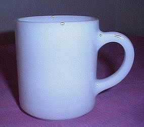 Hazel Atlas White Coffee Cup