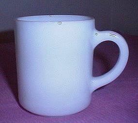 Hazel Atlas White Coffee Cup