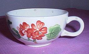 Salem China Geranium Pattern cup