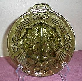 Indiana Glass Killarney Pattern Divided Relish Dish
