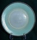 Hazel Atlas Green Ovide Bread Plate