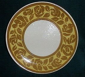 Royal China Ironstone Queens Rose Bread Plate
