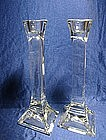 Crystal Taper Candle Holders