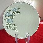 Blue Floral B&B Plate