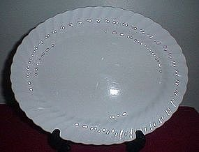Johnson Bros Snowhite Regency Platter