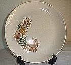 Salem China Autumn Leaves Pattern Plate
