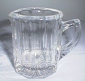 Panel Glass Syrup Pitcher