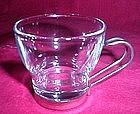 Covetro Italy Chrome and Glass Espresso Cup