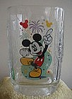 Mickey Mouse Collectible Glass