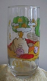 Camp Snoopy Collection Glass