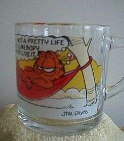 McDonald's Garfield Glass Mug