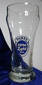 Pabst Extra Light Beer Glass
