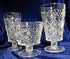 Hazel Atlas Gothic Pattern Glassware