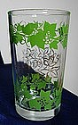 Hazel Atlas/Continental Can Co Grapevine Juice Glass