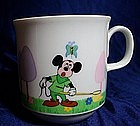 Mickey Mouse Porcelain Cup
