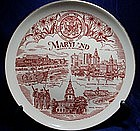 State of Maryland Collectors Plate