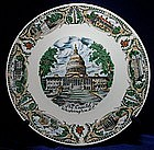 The Capitol, Washington D.C,. Collector Plate