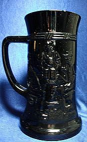 Federal Glass Black Pub Stein