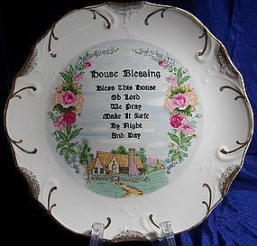 House Blessing Collector Plate