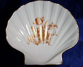 Limoges France Shell Shape Pin Dish