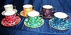 Wawel Porcelain Marble Look Cup and Saucer Set