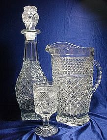 Anchor Hocking Wexford Pattern Glassware