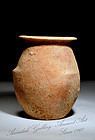 Canaanite Early Bronze Age Jar With Three Ledge Handles