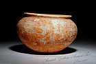 Ancient Middle Bronze Age Burnished Pottery Jar