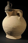 Rare- Biblical Iron Age II pottery olive oil jar,800 BC