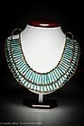Ancient Egyptian Faience Mummy Beads Necklace, 1550 BC