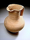 Biblical Caananite Late Bronze Age Wine Pitcher,1550 BC