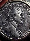 Roman Tetradrachm Of Emperor Trajan Pendant, 100 AD