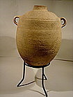 Ancient Biblical Iron Age Wine Amphora, 1000 BC